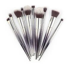 10pcs makeup brushes powder eyeshadow marbling synthetic brush soft maquiagem professional cosmetic beauty set