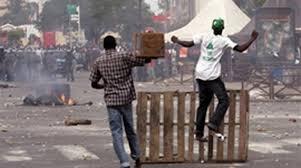 grève Bamenda-Cameroun.