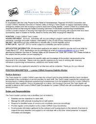 london cares london homeless coalition job posting london cares team leader page 1