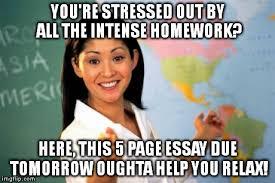 Unhelpful High School Teacher Meme - Imgflip via Relatably.com