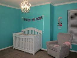 blue girl nurseries white crib bedding and ikea chandelier on pinterest blue nursery furniture