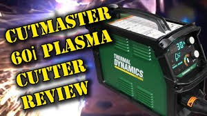 TFS: Thermal Dynamics Cutmaster 60i Review - YouTube