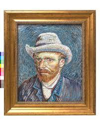 Hand-painted <b>Vincent van Gogh</b> 3D Print | Van Gogh Studio