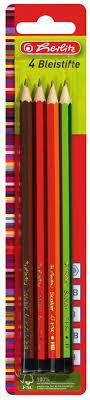 <b>Herlitz</b> Набор <b>чернографитных карандашей</b> 4 шт — купить в ...