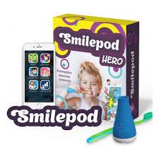 Обучающий <b>набор для чистки</b> зубов Smilepod Игрозуб Hero ...
