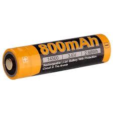 <b>Аккумулятор 14500</b> Fenix ARB-L14 800mAh — купить в интернет ...