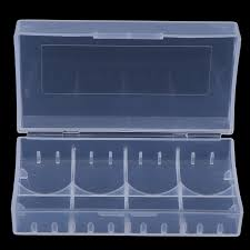 <b>3Pcs Plastic Battery</b> Case Holder Storage Box For 18650 CR123A ...