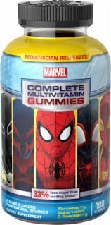 Disney Marvel Spiderman Complete Multivitamin Gummies ... - Ralphs