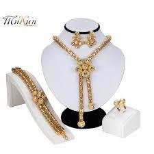 2019 <b>MUKUN Dubai Jewelry Sets</b> Nigerian Wedding Sets 2019 ...