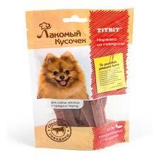 <b>Лакомство</b> для собак мелких и средних пород <b>TitBit Лакомый</b> ...