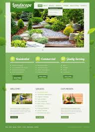 landscape design psd template 41514