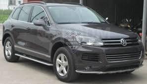 Комплект <b>защиты</b> бамперов для Volkswagen Touareg NF 2011 ...