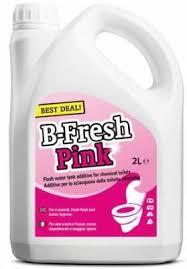 <b>Thetford B</b>-<b>Fresh 2</b> Litre <b>Pink</b> Cassette Chemical Toilet Fluid ...