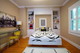 bedroomeclectic attic room interior with sloped ceiling and wood floor also retro bedroom furniture attic furniture ideas