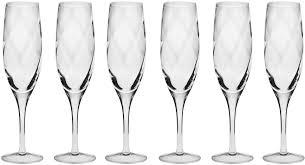 """<b>Набор фужеров для шампанского</b> Krosno """"Романтика"""" 170мл, 6 шт"""
