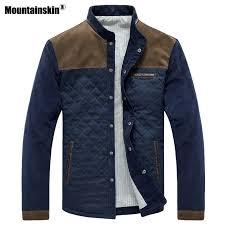Mountainskin <b>Spring Autumn Men's</b> Jacket Baseball Uniform Slim ...
