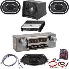 mustang radio mustang radio classic car stereos 1964 mustang radio oe replica bluetooth jl audio stereo kit