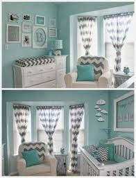turquoise and gray for a baby boy too much color maybe half baby boy rooms