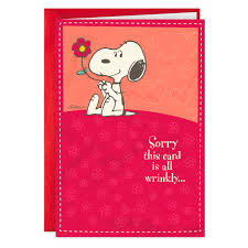 Peanuts® Snoopy Hugs Sweetest Day Card - Greeting Cards ...