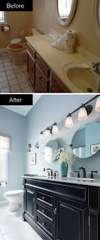 bauer furniture valspar take your bathroom from dull and drab to bold and beautiful a striking