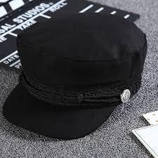 Womens Girls Vintage <b>Beret Hat Caps</b> Black <b>Hats</b> Autumn <b>Fashion</b> ...