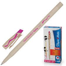 "<b>Ручка</b> стираемая шариковая <b>PAPER MATE</b> ""Replay"", РОЗОВАЯ ..."