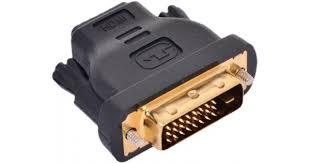 Переходник <b>VCOM HDMI 19F</b> to DVI-D 25M позолоченные контакты