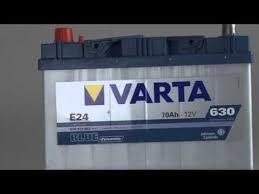 Аккумулятор <b>Varta Blue Dynamic</b> 70ah. Гарантия, видео.
