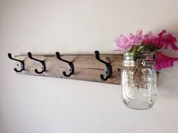 ideas wall shelf hooks: captivating wall mounted clothes hanger rod images inspiration