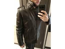 <b>Кожаная куртка Marko Rossini</b>, дубленка, 100% мех, обмен на ...