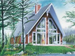A Frame House Plans from Dream Home Source   A Frame Home and    Temp