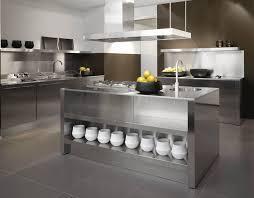 stainless steel kitchen steel kitchen berloni kitchens  steel kitchen