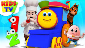 <b>Cute Cartoon Kids</b> Songs For <b>Babies</b> | Bob The Train Nursery ...