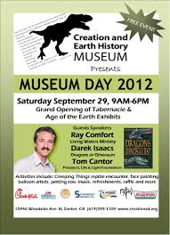 the bible creation and earth history museum blogosphere creation earth history museum day