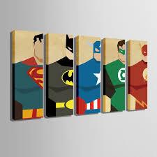 Free Shipping <b>E</b>-<b>HOME</b> Stretched <b>Canvas</b> Art Super Hero ...