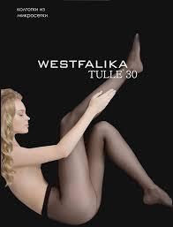<b>Колготки 30</b> den 2 размер цвет черный Westfalika <b>Колготы Tulle</b> ...