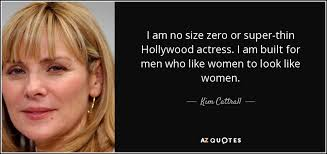 Top seven popular quotes by kim cattrall photo Hindi via Relatably.com