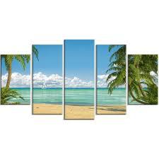 <b>5 Panel</b> Beach Wall Art | Wayfair