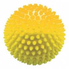 <b>Массажный мяч 1Toy</b>, цвет желтый, артикул 23225, фото, цены ...