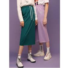 <b>Toyouth 2019 Women Spring</b> Skirt Casual Letter Print Slim High ...