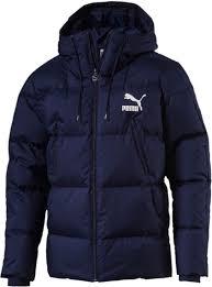 <b>Куртка</b> мужская Puma <b>Classics Padded Jacket</b>, цвет: темно-синий ...