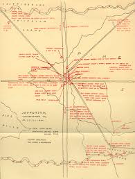 william faulkner draws maps of yoknapatawpha county the fictional faulkner absalom map