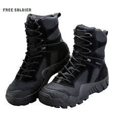 FREE SOLDIER <b>outdoor camping tactical</b> military shoes camouflage ...