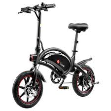 [eu direct] <b>dyu d3f</b> 10ah 36v 250w 14in folding moped <b>electric</b> bike ...