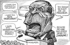 Image result for MUGABE CARTOON