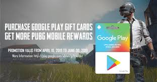 PUBG MOBILE - Get Google Play gift cards from your local ...