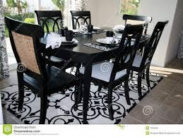 Black Formal Dining Room Set Black Dining Room Table Sets Dining Set In Black And White Stock