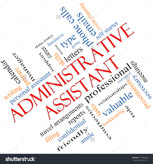 administrative assistant word cloud concept angled stock administrative assistant word cloud concept angled great terms such as professional secretary executive