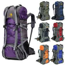 <b>60L</b> Camping Travel <b>Rucksack Sports Outdoor Backpack Hiking</b> ...