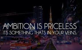 Ambition is priceless. | Quotes | Pinterest | Tat, Love Me and Sky via Relatably.com